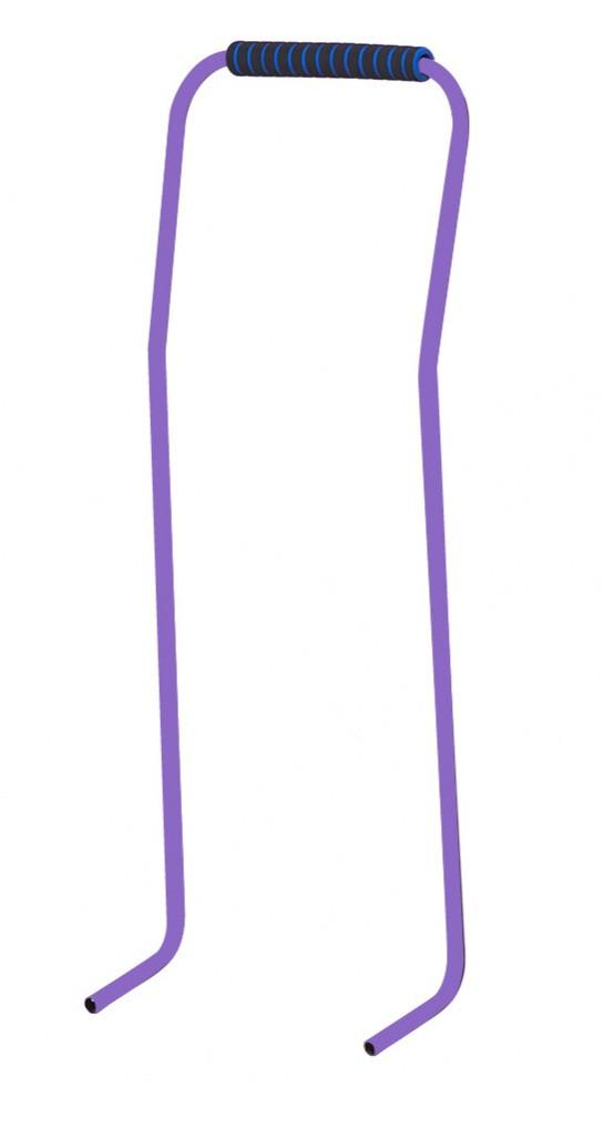 Ручка-толкатель фиолетовая
