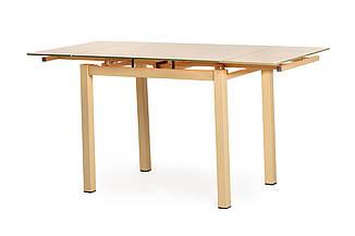 Стеклянный стол Т-231-8 бежевый 90/150 от Vetro Mebel , стекло