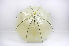 Зонт FAMO Капри желтый Диаметр купола 116.0(см)/ Длина спицы 57.0(см)/ Длина в сложенном виде 80.0(см) (HF005A-N) #L/A