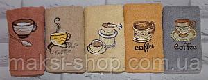 Полотенце махровое для рук и кухни 75х35 см (Q-343)