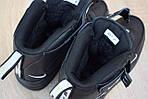 Чоловічі зимові кросівки Nike Air Force 1 Mid LV8 (чорно-білі), фото 8