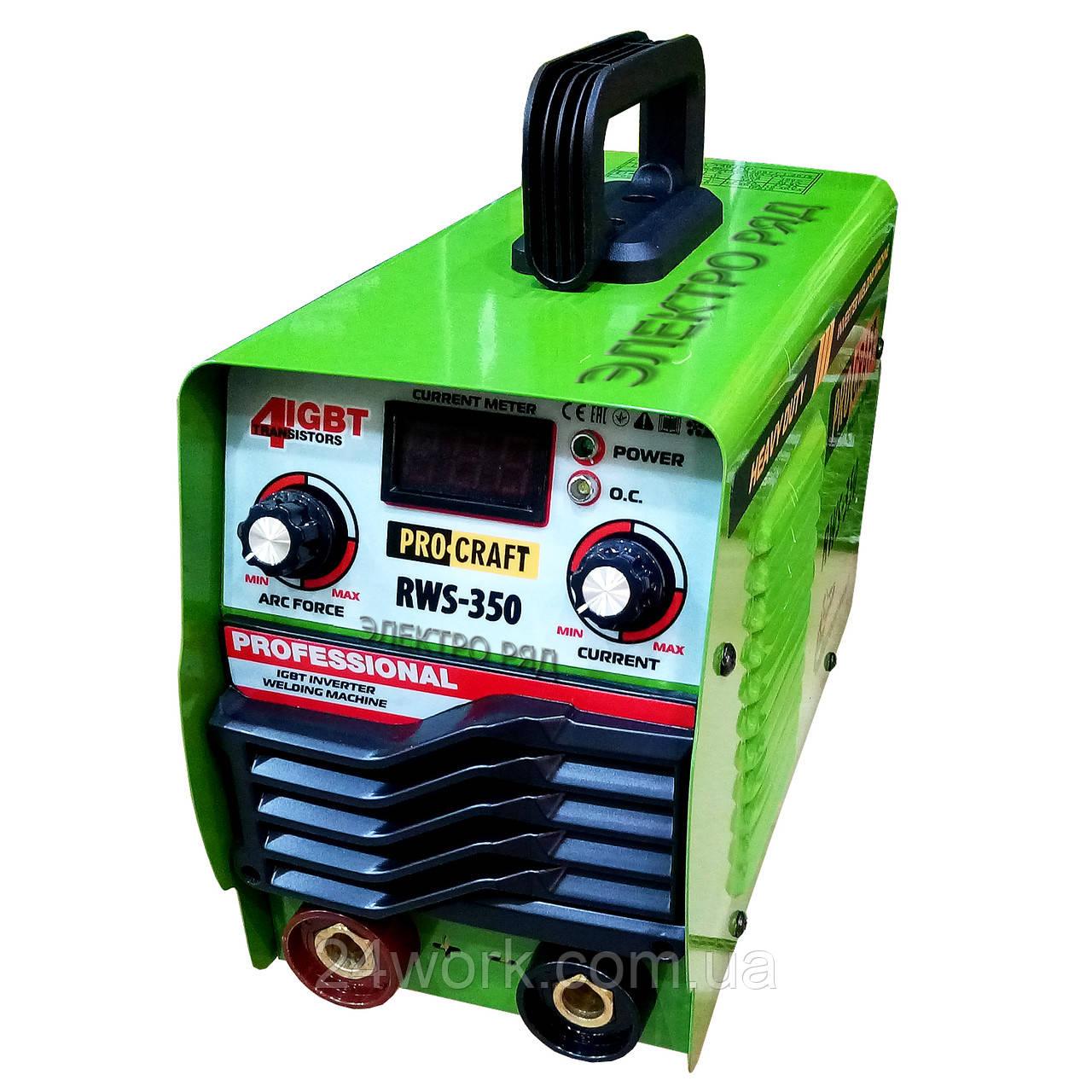 Сварочный аппарат Procraft RWS-350