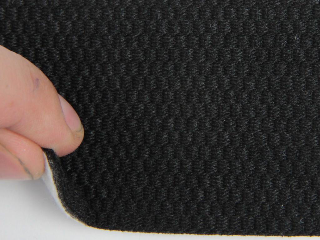 Ткань для сидений автомобиля, цвет черный, на поролоне (для центральной части), Германия
