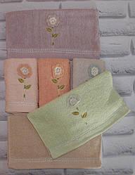 Полотенце махровое для рук и кухни 75х35 см (Q-345)