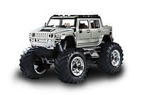 Машинка на радиоуправлении джип 1:43 Great Wall Toys Hummer (серый)