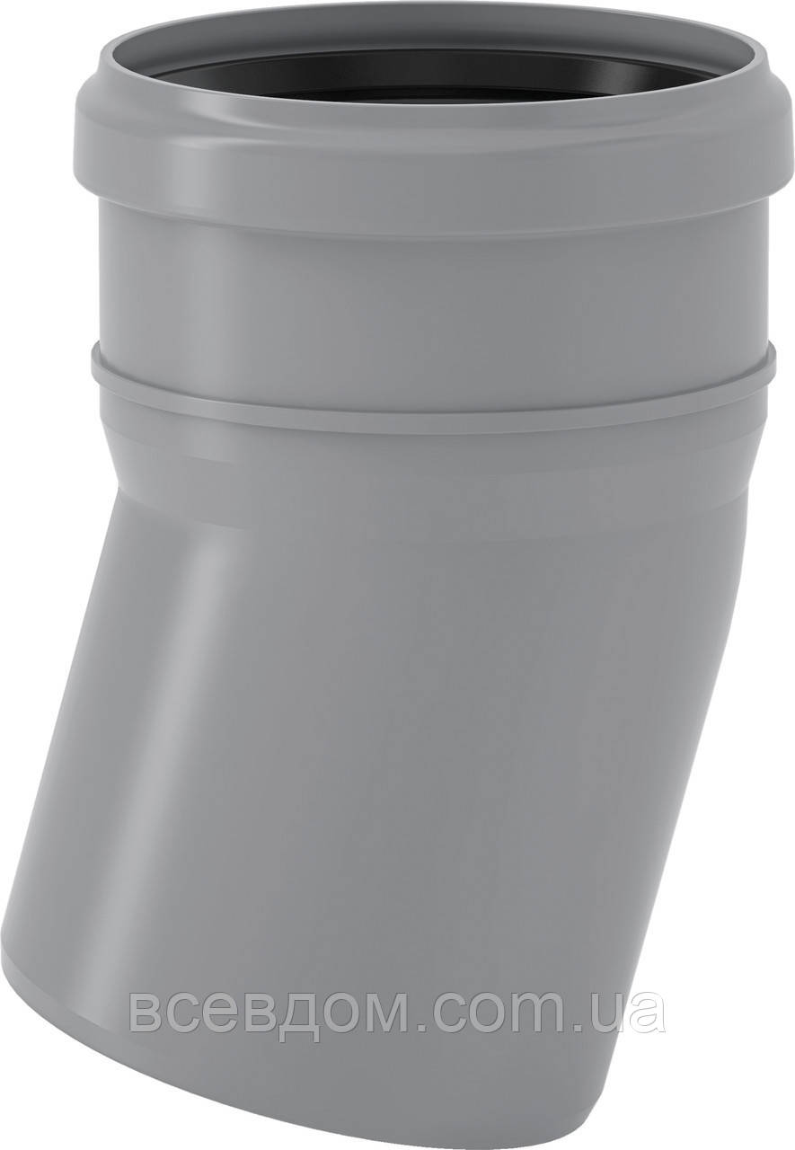 HTB Колено Valsir внутренней канализации 110х15°