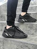 Мужские кроссовки в стиле Adidas Yeezy Boost 700 Black (40, 41, 42, 44 размеры), фото 2