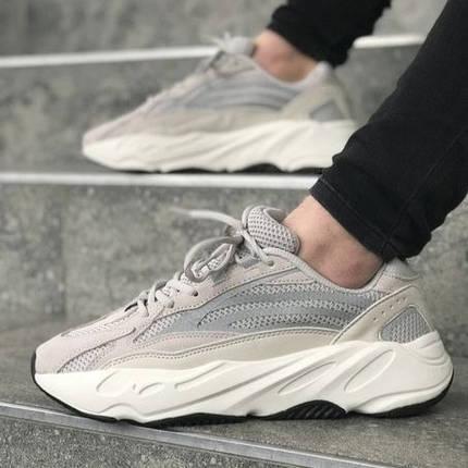 Мужские кроссовки в стиле Adidas Yeezy Boost 700 V2 White (40, 41, 42, 43, 44, 45 размеры), фото 2