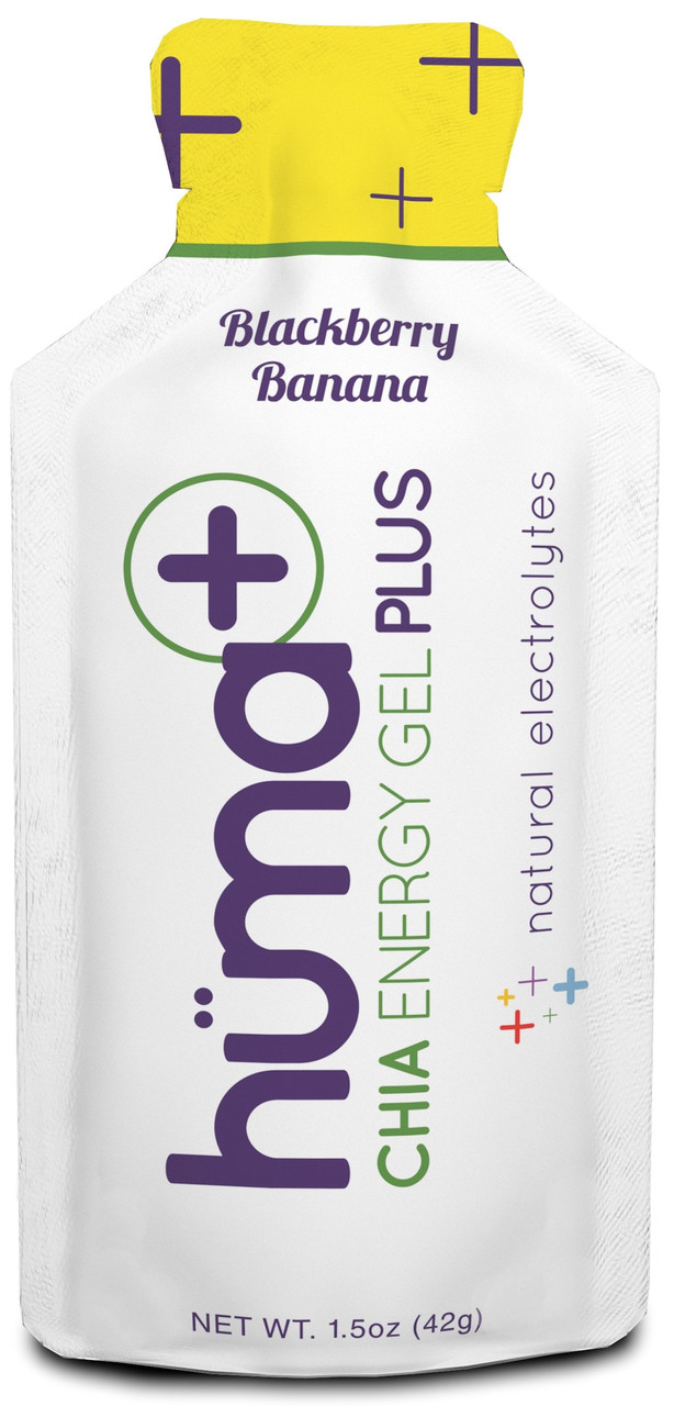 Гель энергетический HUMA - Chia Energy Gel PLUS (42 грамма) ежевика-банан