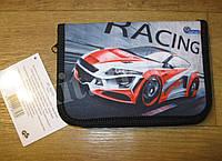 Школьный пенал  с разворотом Racing, фото 1