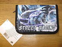 Школьный пенал  с разворотом Street racing, фото 1