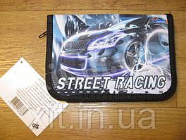 Школьный пенал  с разворотом Street racing