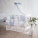Детский постельный комплект Маленькая Соня Mon Cheri 6 и 7 элементов, фото 6