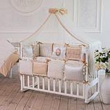 Детский постельный комплект Маленькая Соня Mon Cheri 6 и 7 элементов, фото 2