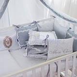 Детский постельный комплект Маленькая Соня Mon Cheri 6 и 7 элементов, фото 4