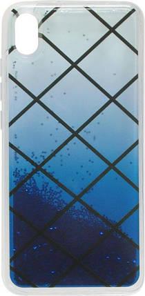 Накладка Xiaomi Redmi7A Gradient аквариум, фото 2