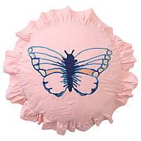 IKEA SANGLARKA Подушка узор бабочек (304.269.83)