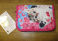 Школьный пенал  с разворотом Little Kitty, фото 1