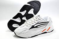 Кроссовки мужские в стиле Adidas Yeezy Boost 700 V2, Белый/Чёрный
