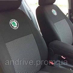 Авточехлы Skoda Fabia Hatchback с 2011 (раздельный диван)