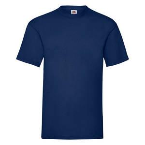 Футболка мужская тёмно-синяя VALUEWEIGHT T