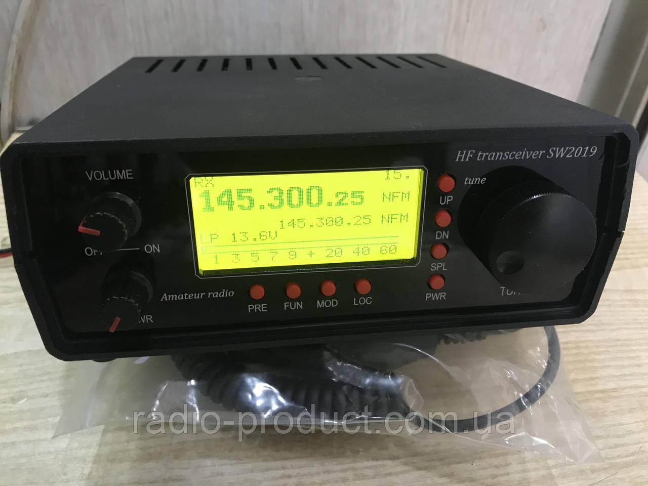 Трансивер SW2019-VHF, КВ+УКВ радиостанция, NFM/SSB/CW/DIGI, (полная версия)