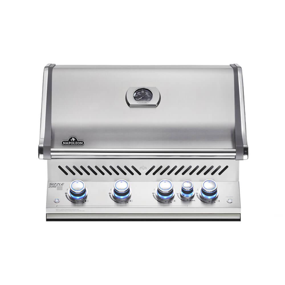 Встраиваемый газовый гриль для барбекю с пятью горелками Prestige PRO-500 Napoleon BIPRO500RBPSS-1-CE