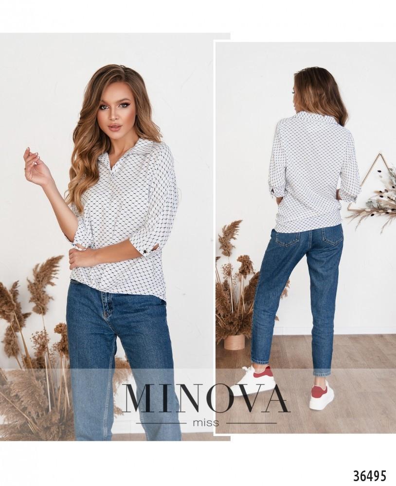 Рубашка №165Н-1-белый Размеры 42,44