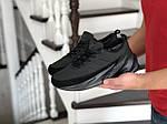 Мужские кроссовки Adidas Sharks (черные) Зима, фото 2