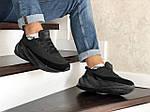 Мужские кроссовки Adidas Sharks (черные) Зима, фото 3