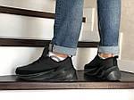 Мужские кроссовки Adidas Sharks (черные) Зима, фото 4