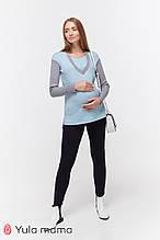 Теплі брюки-спідниці для вагітних Kristi warm TR-49.102 (Розмір: M )