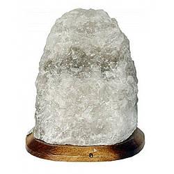 Соляний світильник Скеля 4-5кг із звичайною лампочкою