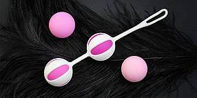 Шарики Gvibe для тренировки интимных мышц Geisha Balls 2, КОД: 278053