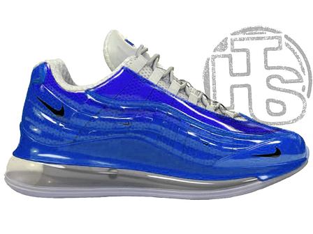 Мужские кроссовки Heron Preston Nike Air Max 720/95 Blue White, фото 2