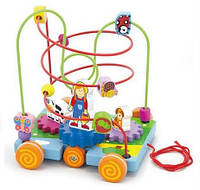 Детский Лабиринт Машинка Viga Toys 50120