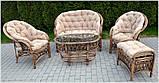 Комплект садових меблів з ротанга Casablanka, фото 9