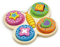 Пазл Метелик Viga Toys 59924