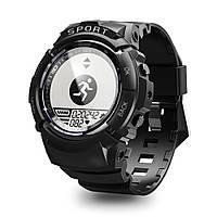 Умные часы Finow S816 с компасом и пульсометром (Черный), фото 1