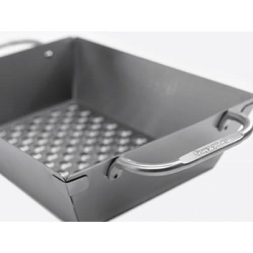 Сковородка Вок прямоугольная для овощей из высококачественной нержавеющей стали Broil King (69818)