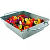 Сковородка Вок прямоугольная для овощей из высококачественной нержавеющей стали Broil King (69818), фото 2