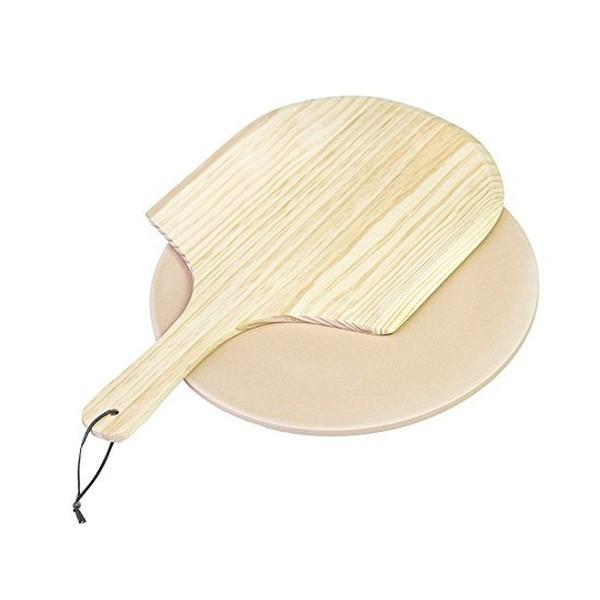 Камень и лопатка для пиццы из высококачественного фарфора Char-Broil 9185577