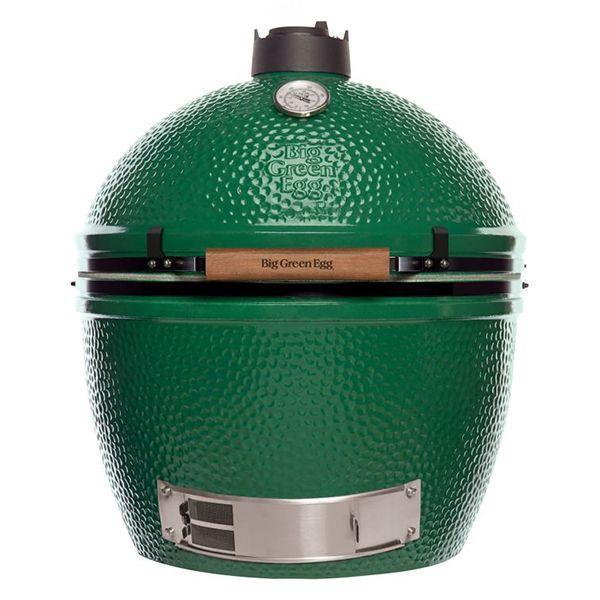 Керамический гриль, печь, тандыр угольный с решеткой зеленого цвета Big Green Egg XLarge (AXLHD / 117649)