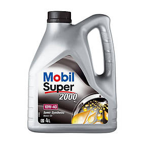 Моторное масло Mobil Super 2000 x1 10W-40 4 л 1000522, КОД: 356026