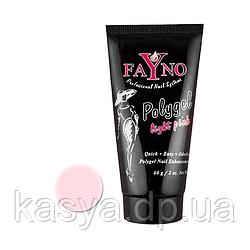 Полигель FaYno Professional Light Pink(светлый розовый), 60 г
