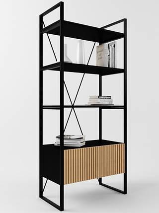 Дизайнерский стеллаж для офиса Arris Loft TM Esense, фото 2