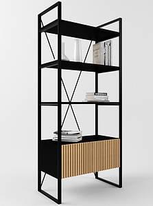 Дизайнерский стеллаж для офиса Arris Loft TM Esense