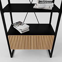 Дизайнерский стеллаж для офиса Arris Loft TM Esense, фото 3