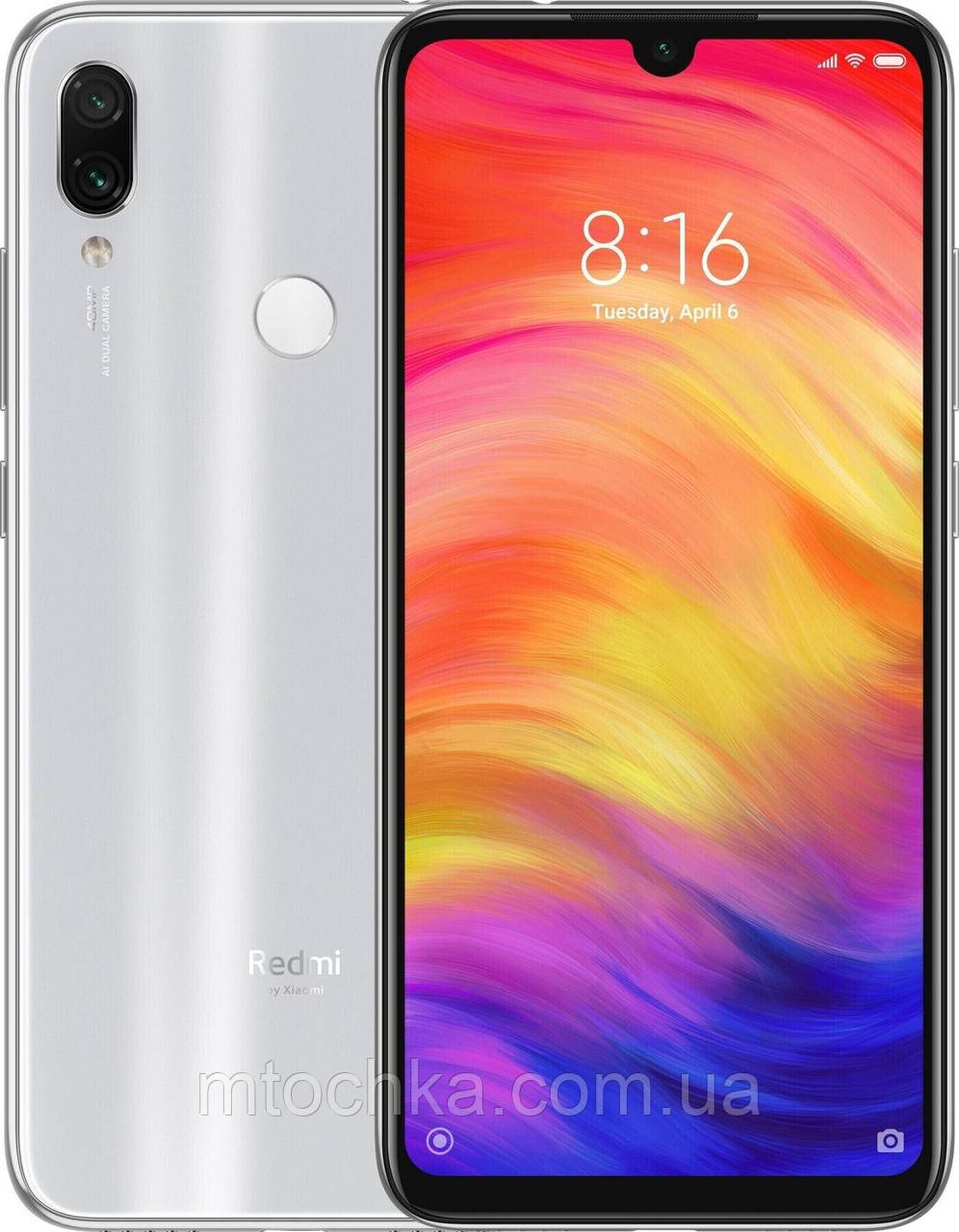 Телефон Xiaomi Redmi Note 7 4/128 GB Moonlight White, фото 1