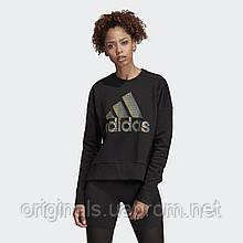 Свитшот женский adidas ID Glam W DZ8676 2019/2